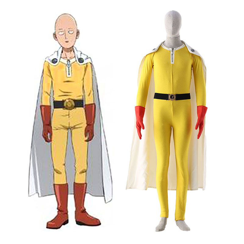One Punch-man Saitama 1 Cosplay Kostüme Germany