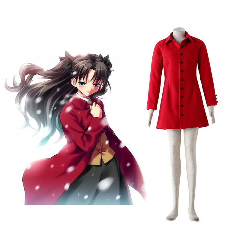 The Holy Grail War Tohsaka Rin 4 Rot Cosplay Kostüme Germany