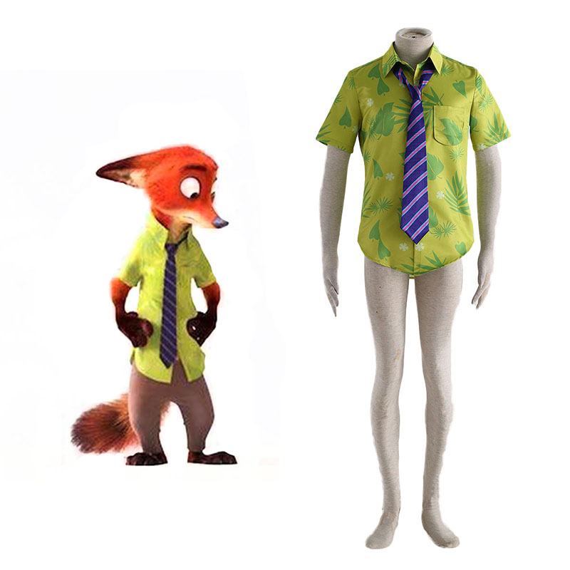 Zootopia Nick Shirt Cosplay Kostüme Germany