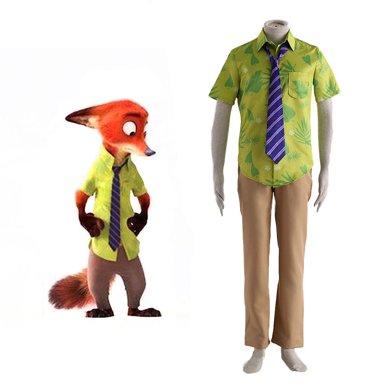 Zootopia Nick Normal Cosplay Kostüme Germany