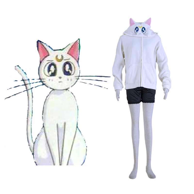 Sailor Moon Weiß Cat Artemis Cosplay Kostüme Germany
