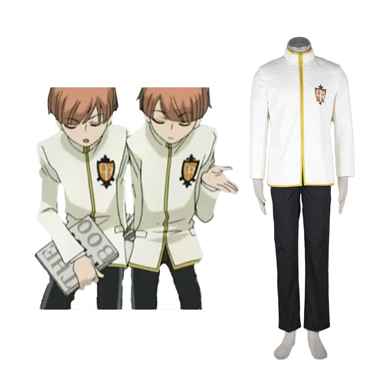Ouran High School Host Club Male Uniformen Gelb Cosplay Kostüme Germany