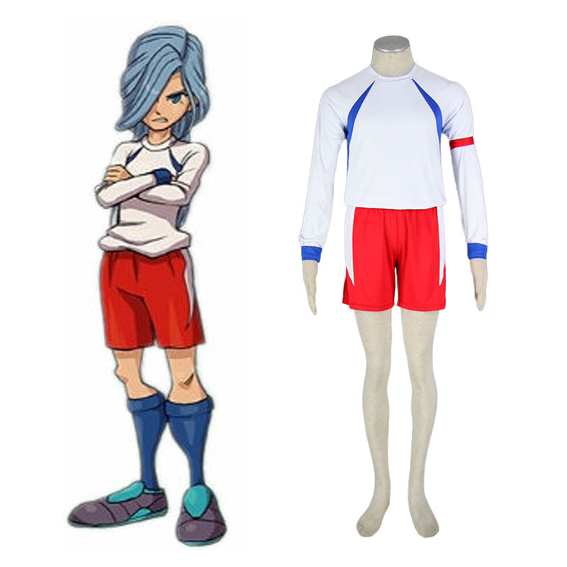 Inazuma Eleven British Team Soccer Jersey 2 Cosplay Kostüme Germany