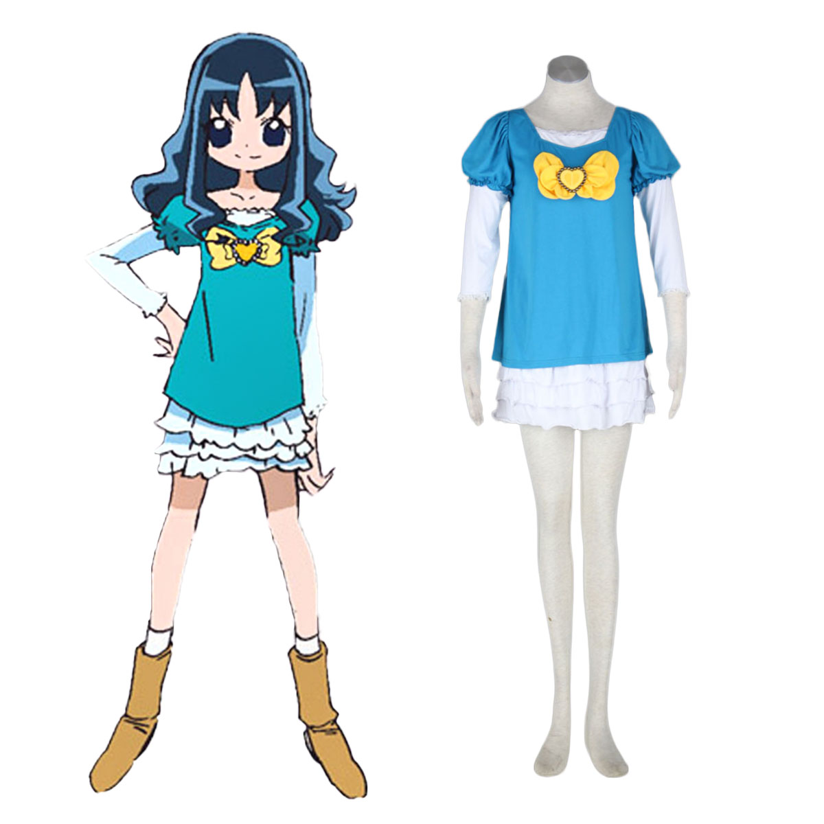 HeartCatch Pretty Cure! Erika Kurumi Cosplay Kostüme Germany