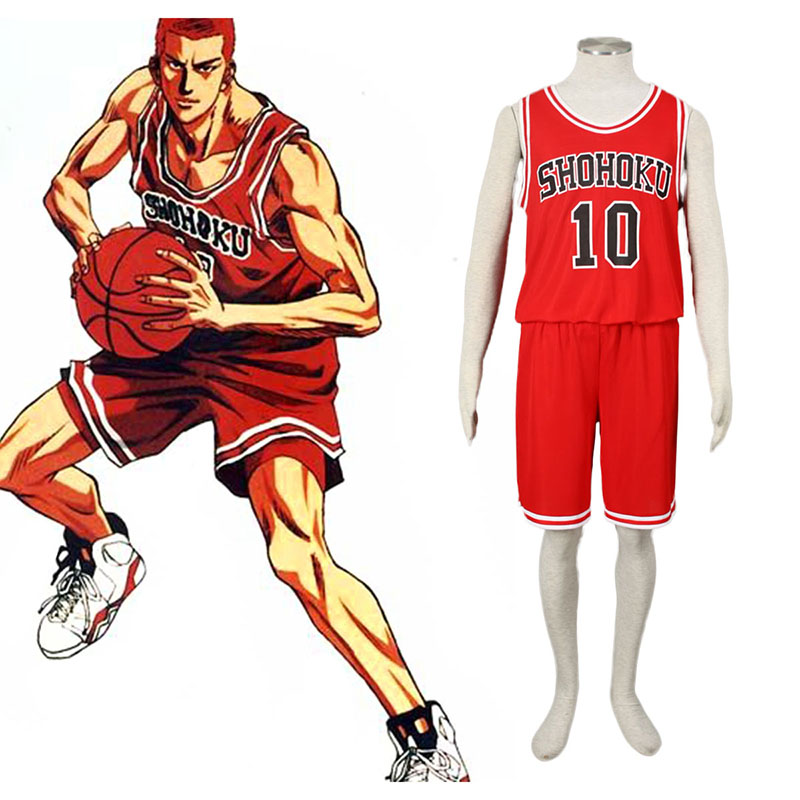 Slam Dunk Hanamichi Sakuragi 1 Cosplay Kostüme Germany