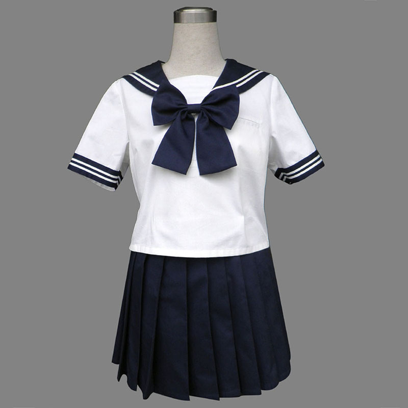 Royal Blau Short Sleeves Sailor Uniformen 8 Cosplay Kostüme Germany