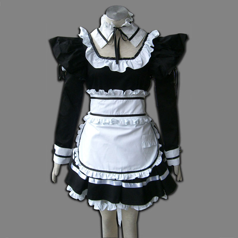 Schwarz Maid Uniformen 1 Cosplay Kostüme Germany