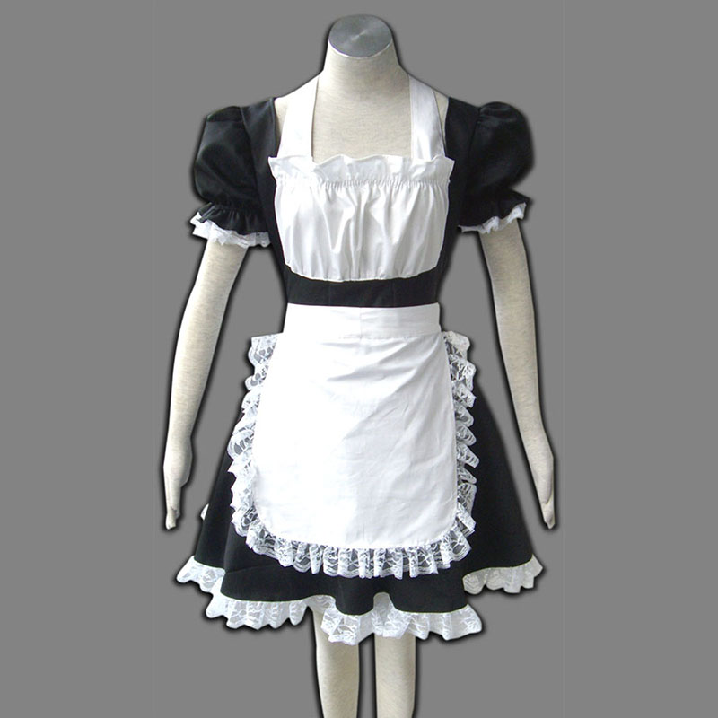 Maid Uniformen 2 Schwarz Winged Angle Cosplay Kostüme Germany
