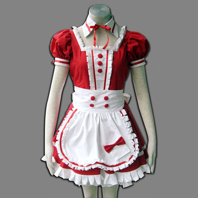 Rot Maid Uniformen 6 Cosplay Kostüme Germany