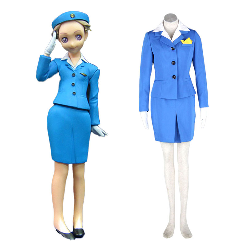 Aviation Uniformen Culture Stewardess 1 Cosplay Kostüme Germany