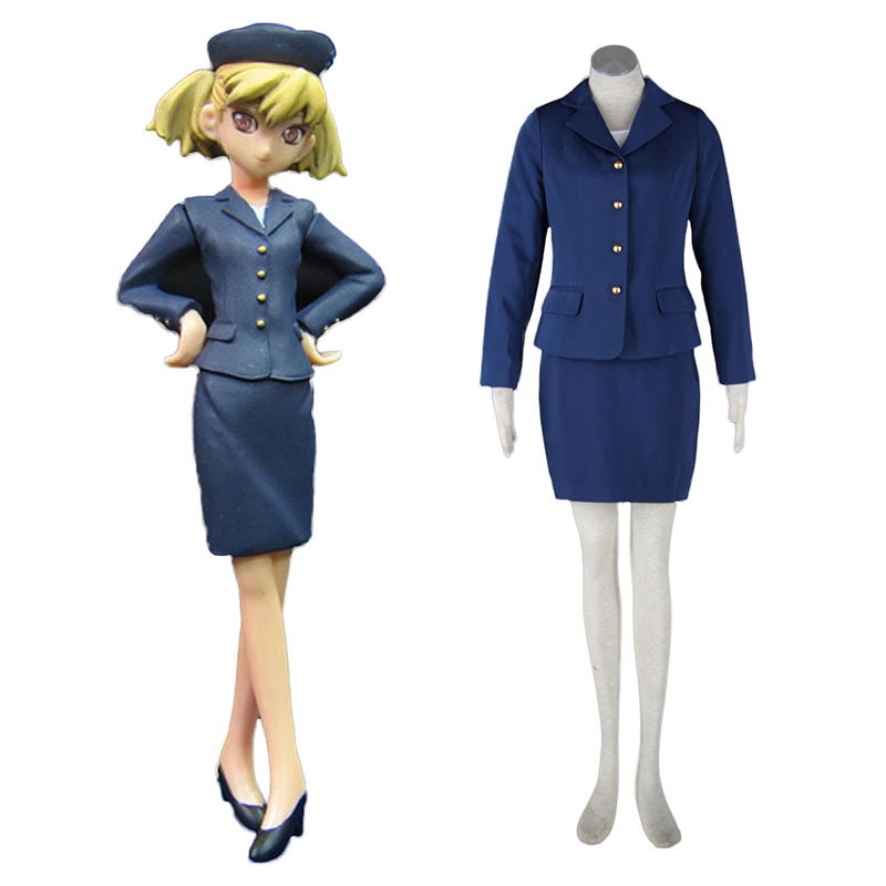 Aviation Uniform Kultur Stewardess 3 Cosplay Kostüme Germany