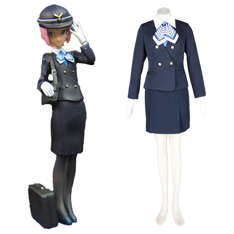 Aviation Uniform Kultur Stewardess 7 Cosplay Kostüme Germany