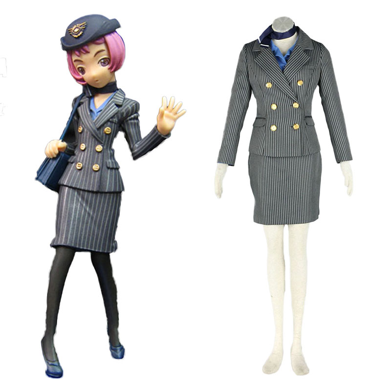 Aviation Uniform Kultur Stewardess 8 Cosplay Kostüme Germany