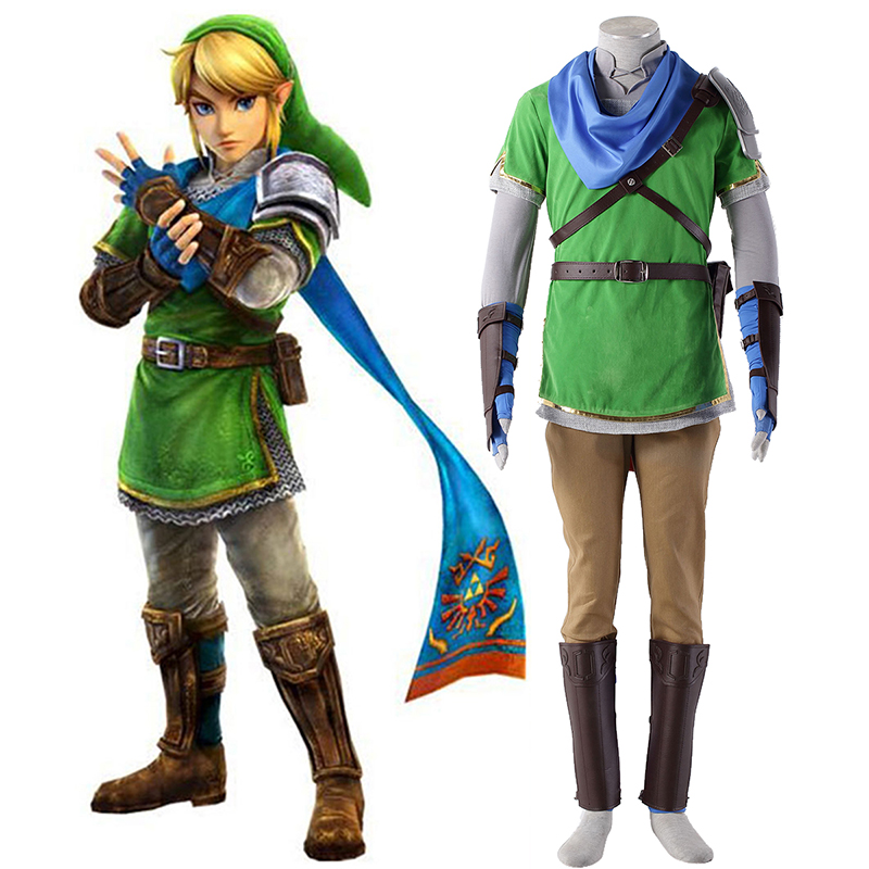 The Legend of Zelda Hyrule-Warriors Link 5 Cosplay Kostüme Germany