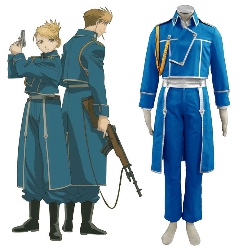 Fullmetal Alchemist Male Military Uniformen Cosplay Kostüme Germany