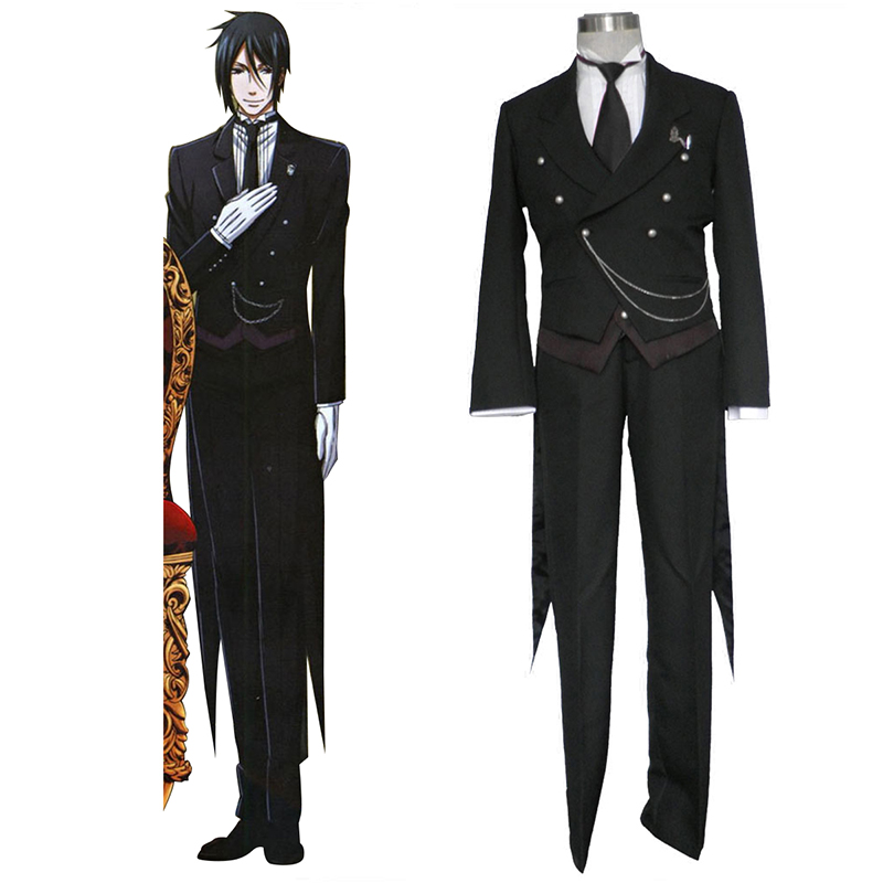 Black Butler Sebastian Michaelis 1 Cosplay Kostüme Germany