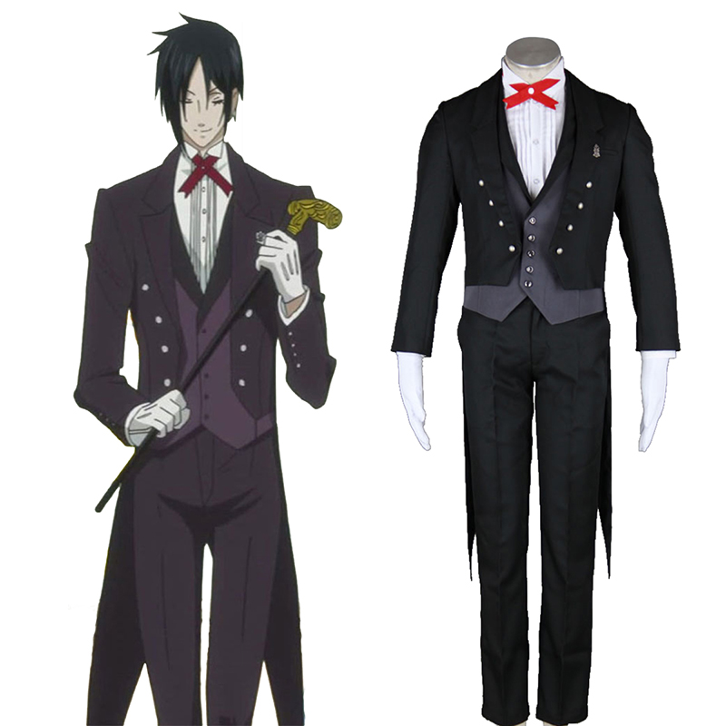 Black Butler Sebastian Michaelis 2 Cosplay Kostüme Germany