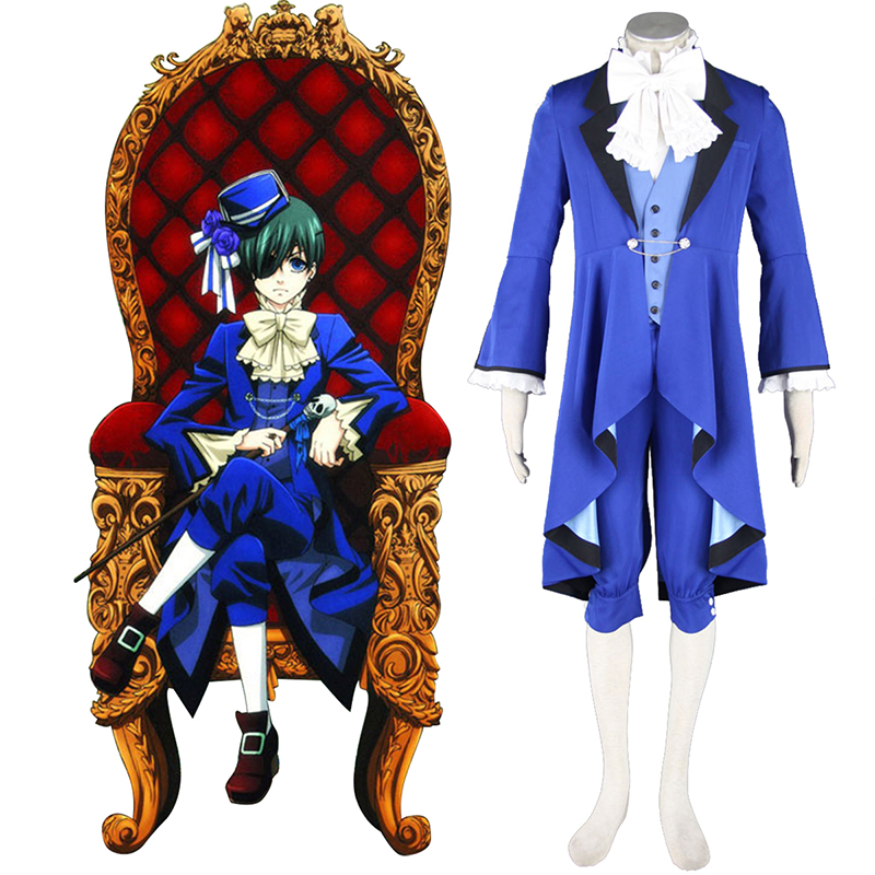 Black Butler Ciel Phantomhive 18 Cosplay Kostüme Germany