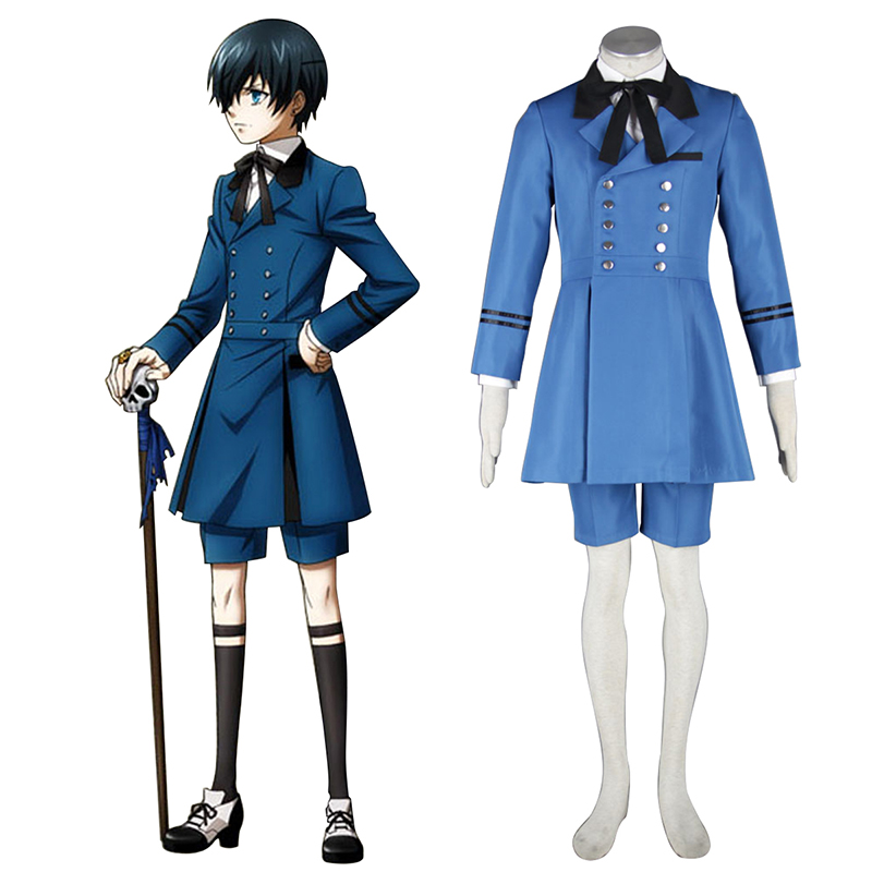 Black Butler Ciel Phantomhive 5 Cosplay Kostüme Germany