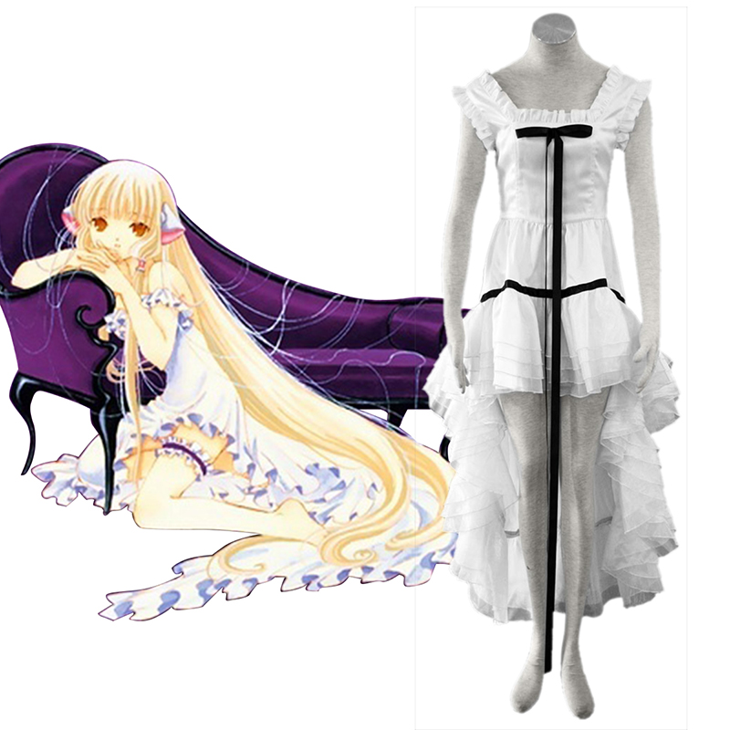 Chobits Eruda 2 Weiß Cosplay Kostüme Germany