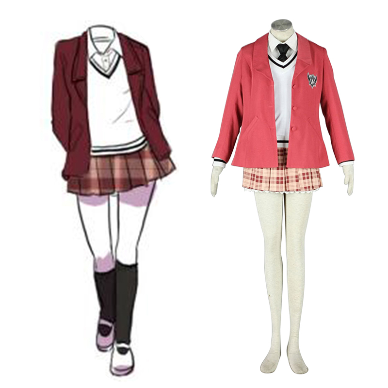 Axis Powers Hetalia Winter Female School Uniformen 1 Cosplay Kostüme Germany