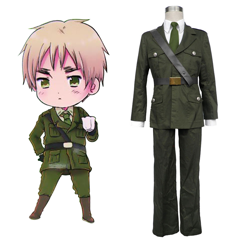 Axis Powers Hetalia Arthur Kirkland Britain 1 Cosplay Kostüme Germany