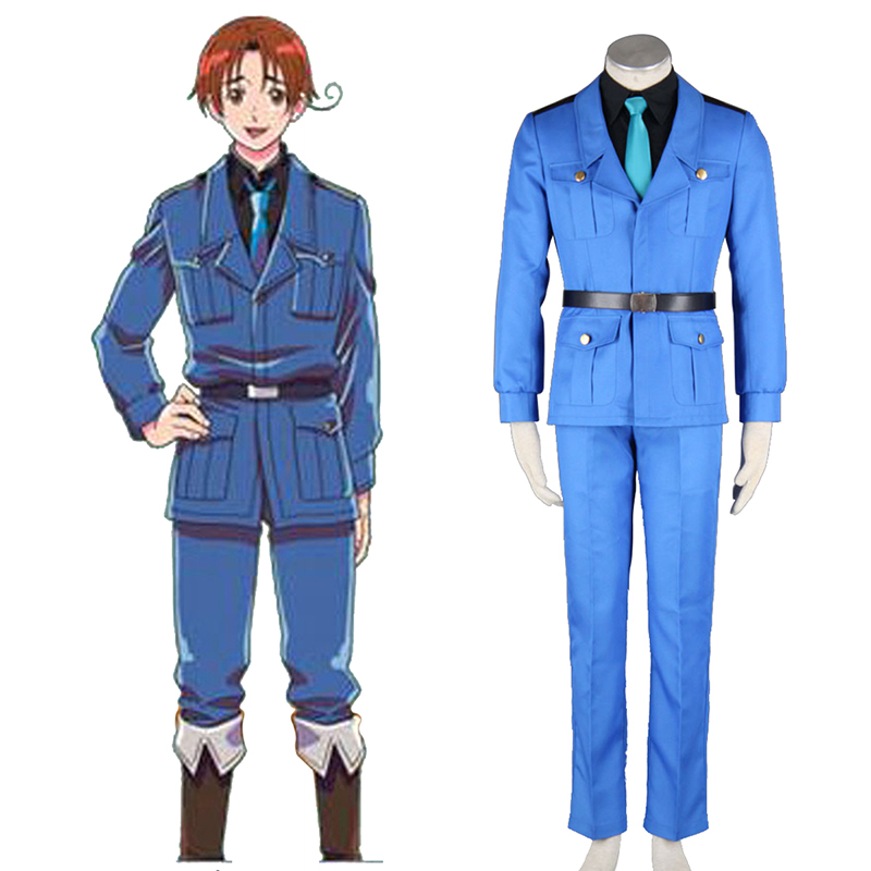 Axis Powers Hetalia APH North Italy Feliciano Vargas 3 Cosplay Kostüme Germany