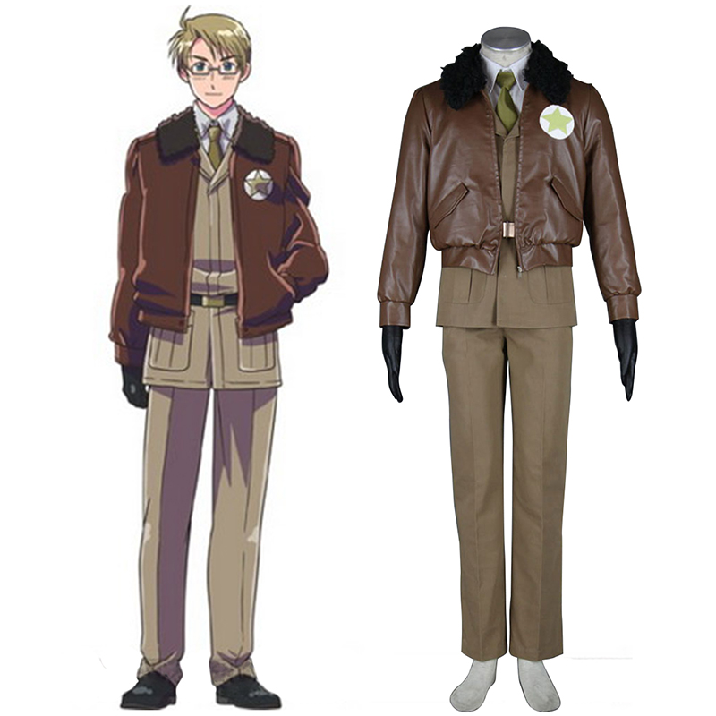 Axis Powers Hetalia APH America Alfred F Jones 1 Cosplay Kostüme Germany