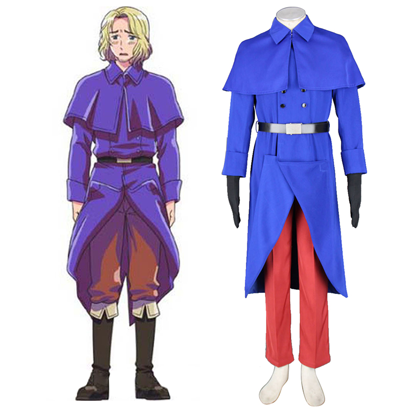 Axis Powers Hetalia France Francis Bonnefeuille 1 Cosplay Kostüme Germany