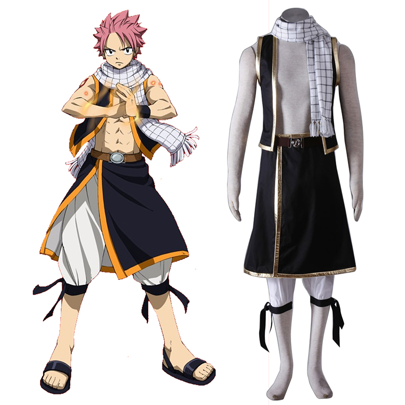 Fairy Tail Natsu Dragneel 1 Cosplay Kostüme Germany