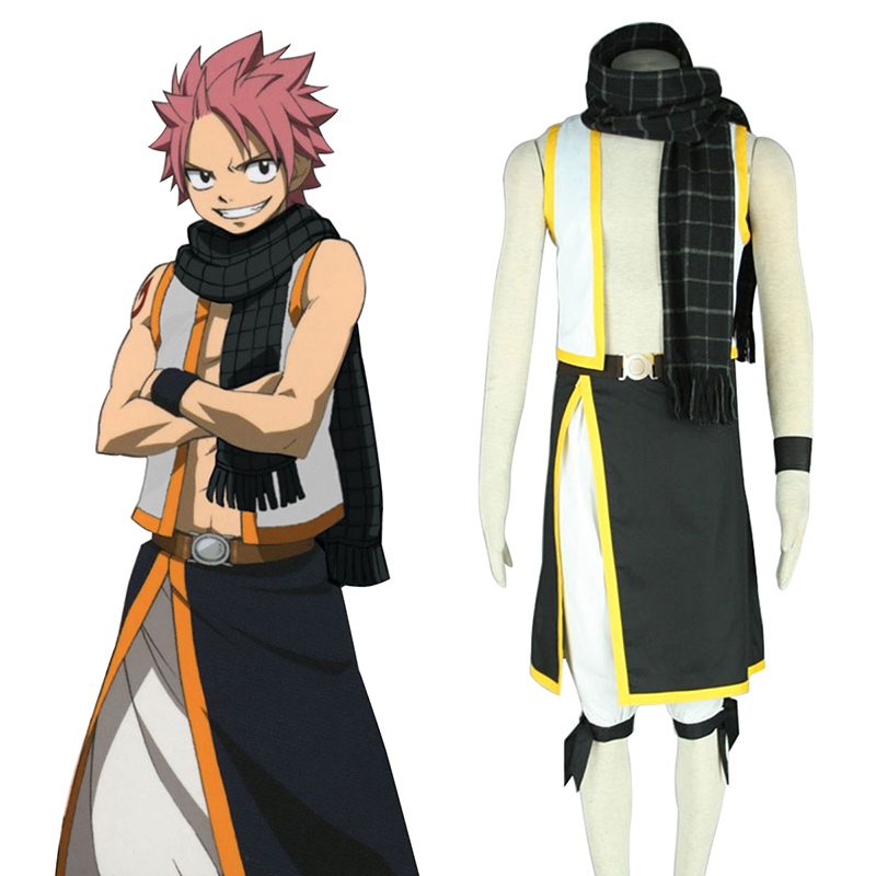 Fairy Tail Natsu Dragneel 2 Cosplay Kostüme Germany