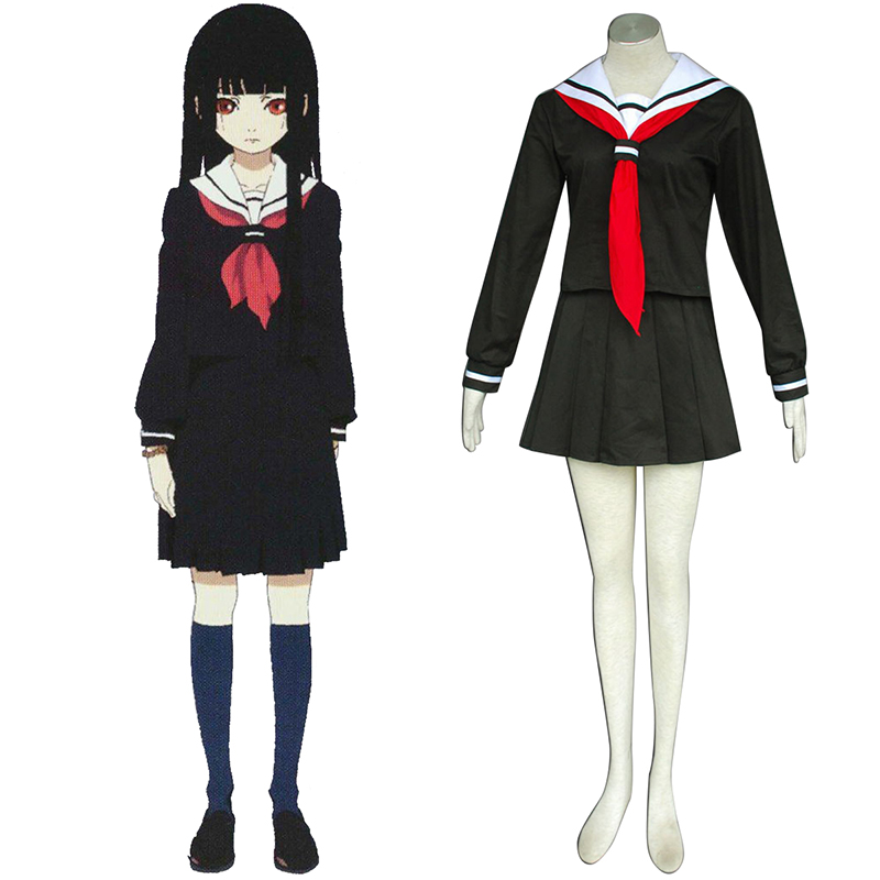 Hell Girl Enma Ai 2 Sailor Cosplay Kostüme Germany