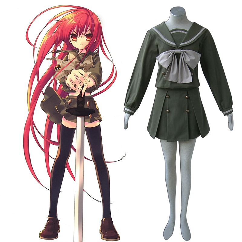 Shakugan no Shana Shana 2 Winter Sailor Cosplay Kostüme Germany