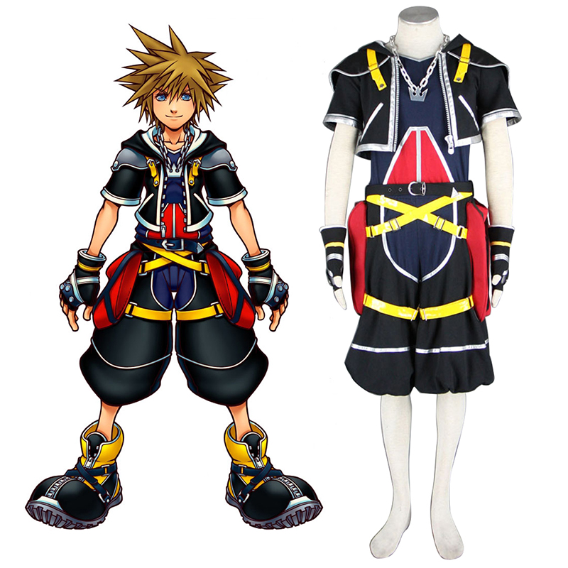 Kingdom Hearts Sora 1 Cosplay Kostüme Germany