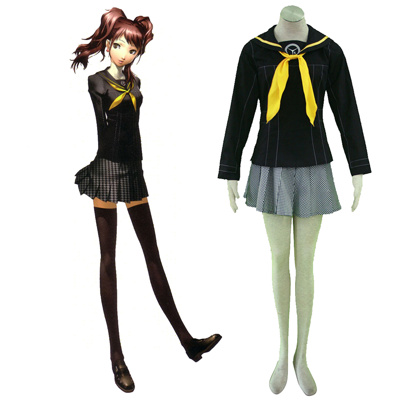Shin Megami Tensei: Persona 4 Winter Female School Uniformen Cosplay Kostüme Germany