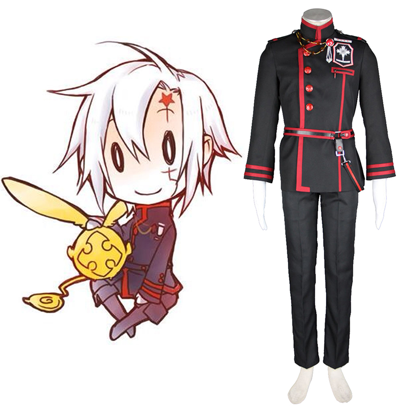 D.Gray-man Allen Walker 3 Cosplay Kostüme Germany