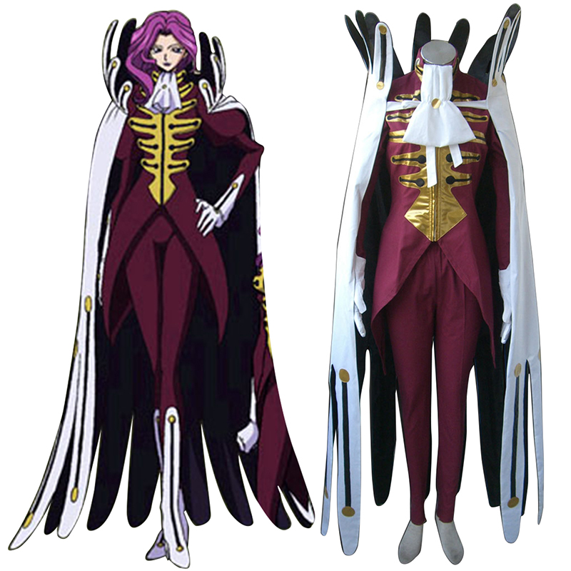 Code Geass Koneria·Ri·Buritania Cosplay Kostüme Germany