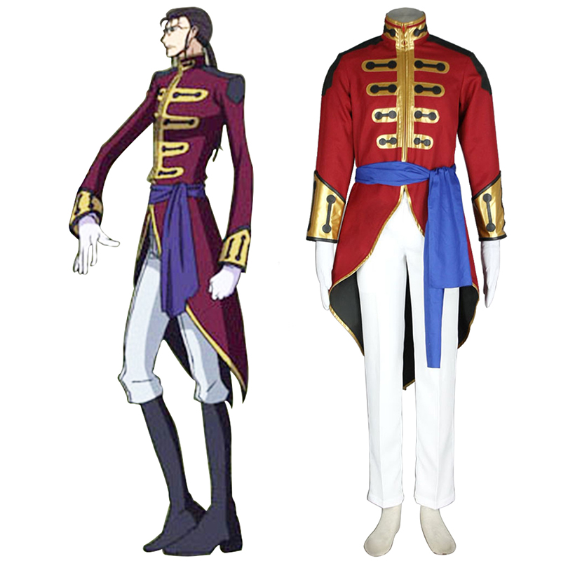Code Geass Gilbert G.P. Guilford Cosplay Kostüme Germany