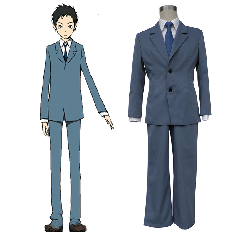Durarara!! Raira Academy Men's School Uniformen Cosplay Kostüme Germany