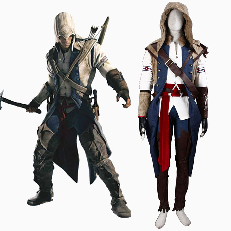 Assassin's Creed III Assassin 7 Cosplay Kostüme Germany