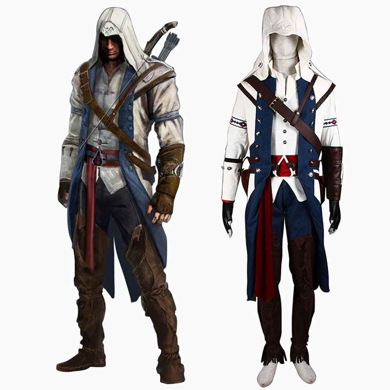 Assassin's Creed III Assassin 8 Cosplay Kostüme Germany