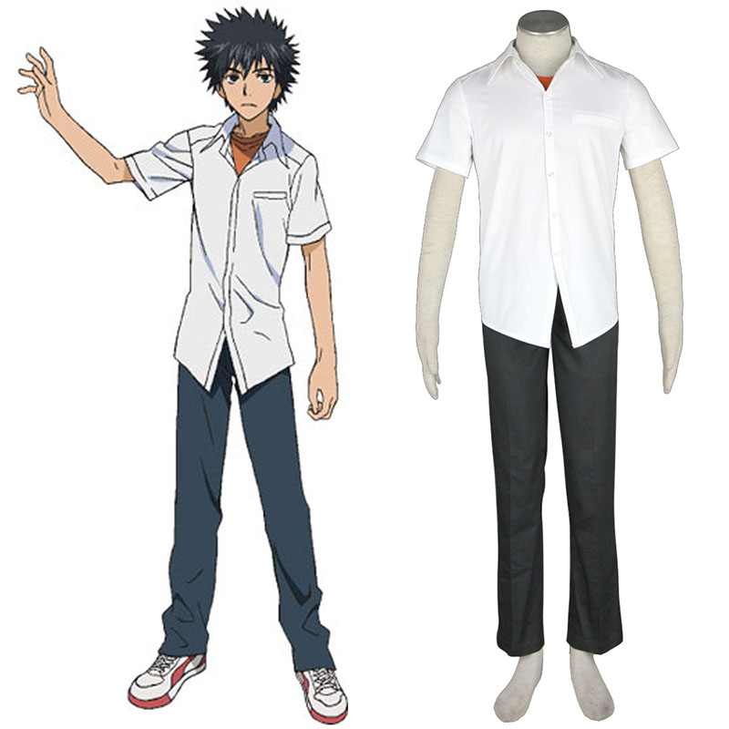 A Certain Magical Index Kamijou Touma 1 Cosplay Kostüme Germany