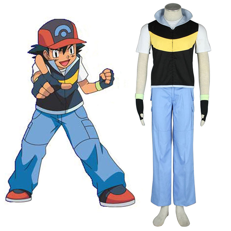 Pokémon Ash Ketchum 1 Cosplay Kostüme Germany