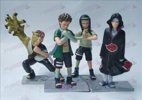 2. Generation 4 Modelle Naruto Puppe