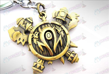 World of Warcraft Orcs Zubehör Keychain