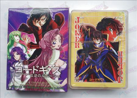 Hardcover edition of Poker (Code Geass Zubehör)