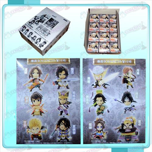 Genuine 12 Dynasty Warriors Puppe