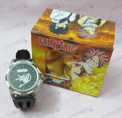 Fairy Tail Scale Uhr - Black