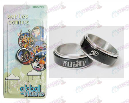 Fairy Tail Zubehör Black Steel Ring Transporter