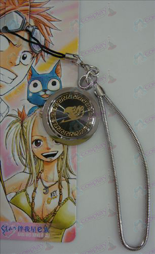 Black Steel Strap Fairy Tail Zubehör Gold
